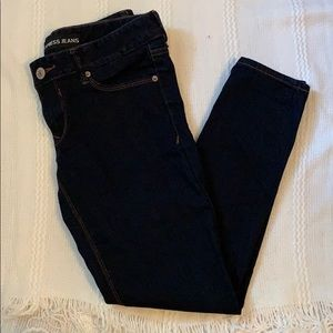 LIKE NEW EXPRESS LOW RISE JEGGINGS SIZE 6s💙💙